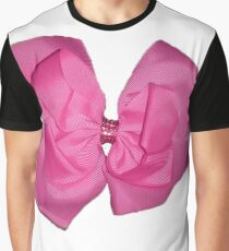 Pink Bow Graphic T-Shirt