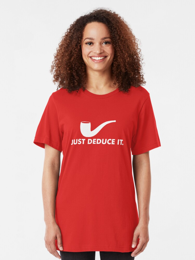 Alternate view of Just Deduce It Slim Fit T-Shirt