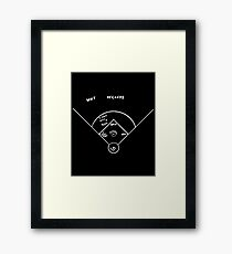 Who S On First Framed Print