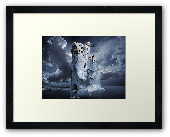 Ice Age Premonition by George Grie
