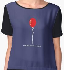 IT Pennywise Balloon Women's Chiffon Top