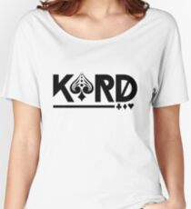 kard Women's Relaxed Fit T-Shirt