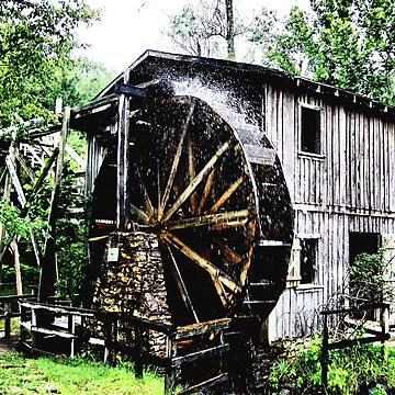 Arkansas Waterwheel by melaniedion