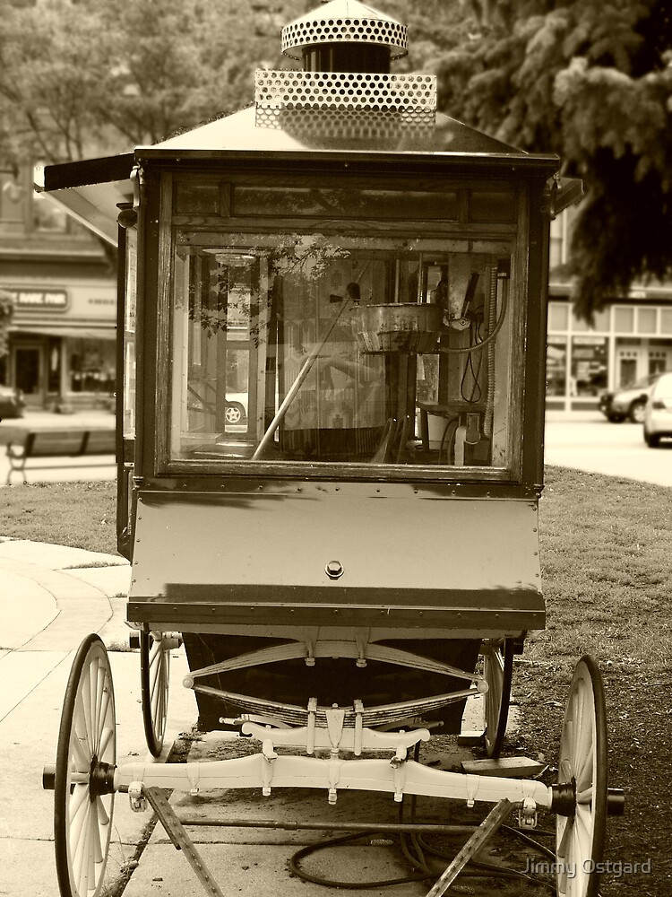 Pop Corn Wagon by Jimmy Ostgard