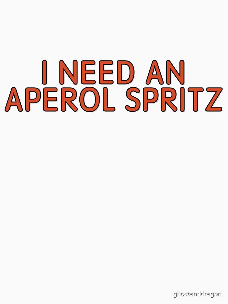Aperol Spritz de ghostanddragon