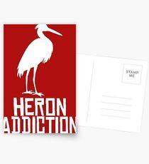 Heron Addiction Postcards
