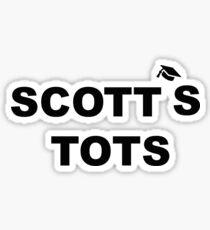 scott's tots office Sticker