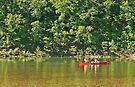 Canoe on the Buffalo by Graeme  Hyde