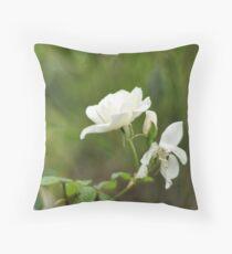 Spring rose Throw Pillow