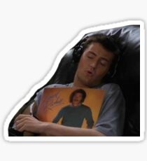 chandler bing friends Sticker