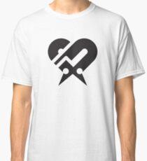 Axiom Symbol (Black+White) Classic T-Shirt