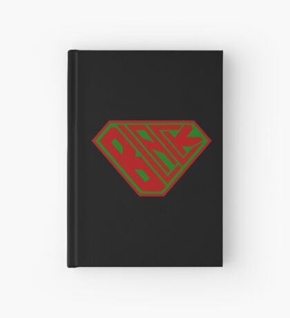 Black SuperEmpowered (Red and Green) Hardcover Journal