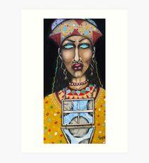 La Diosa de Predicciones, Tiempo y Clima (The Goddess of Predictions, Time and Weather) Art Print