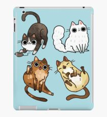 weil Katzen iPad-Hülle & Klebefolie
