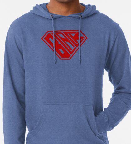 Black SuperEmpowered (Red) Lightweight Hoodie