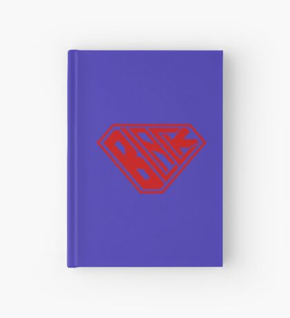 Black SuperEmpowered (Red) Hardcover Journal