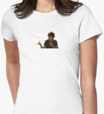 Troy Bolton Bet On It Women's Fitted T-Shirt