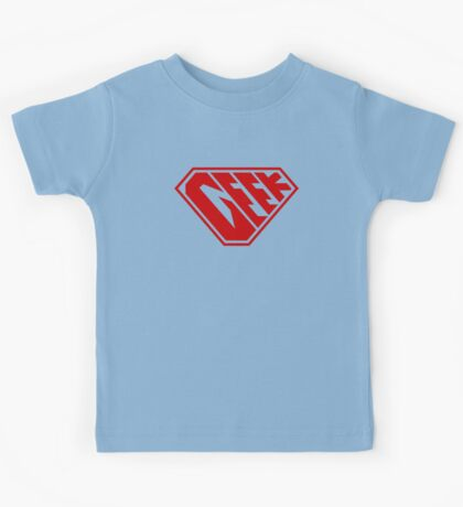 Geek SuperEmpowered (Red) Kids Clothes
