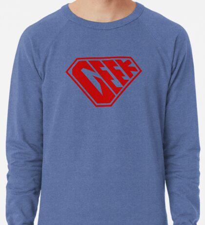Geek SuperEmpowered (Red) Lightweight Sweatshirt