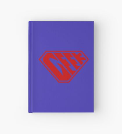 Geek SuperEmpowered (Red) Hardcover Journal