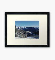 Ski Resort Framed Print