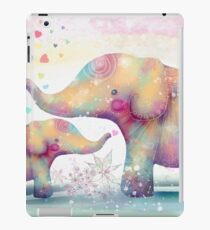 elephant affection iPad Case/Skin