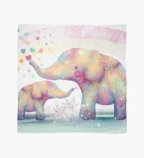 Elefanten-Zuneigung Tuch