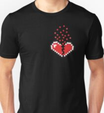 8 Bit Heart Break T-Shirt