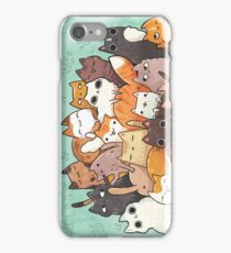 Pile o cat  iPhone Case/Skin