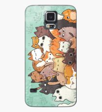Pile o cat  Case/Skin for Samsung Galaxy
