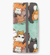 Pile o cat  iPhone Wallet/Case/Skin