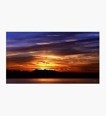 Olympic Sunset Nine Photographic Print