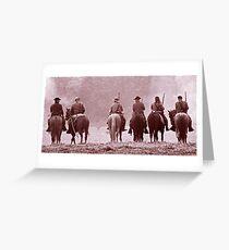 Battle Field Greeting Card