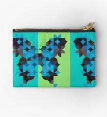 Butterfly Blues Studio Pouch