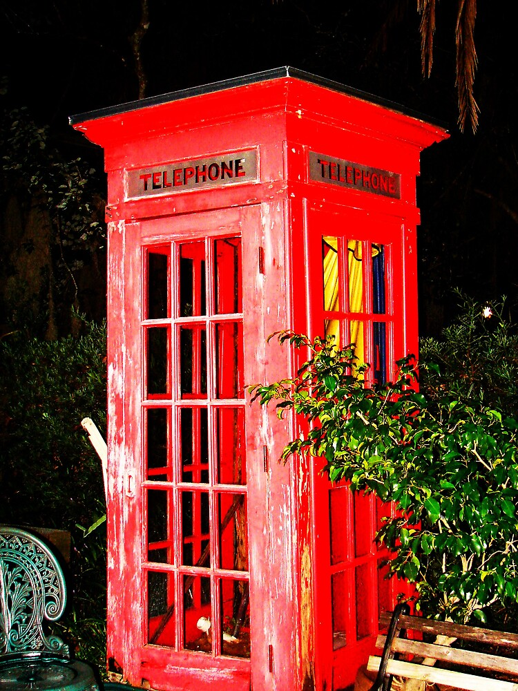 Phone Booth by Julia Mayer