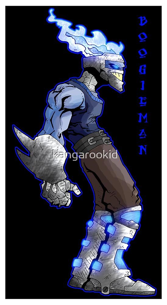 boogie-man concept by kangarookid