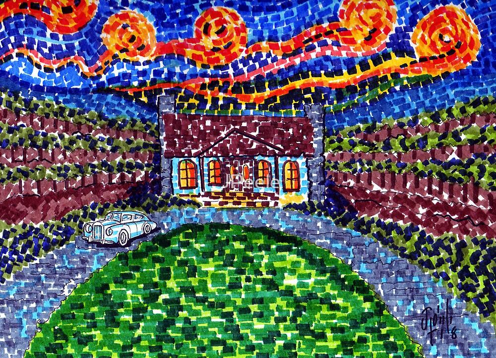 Napa Starry Night's  by James Peele