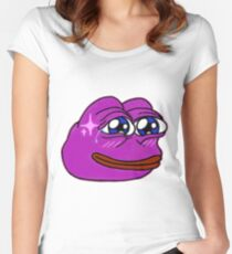 Pinkberry Pepe Women's Fitted Scoop T-Shirt