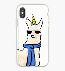 Snazzy Llamacorn iPhone Case