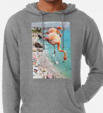 Flamingos on the Beach #redbubble #decor Lightweight Hoodie