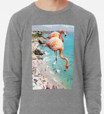 Flamingos am Strand #redbubble #decor Leichter Pullover