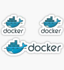 Docker Logo Strickers Sticker
