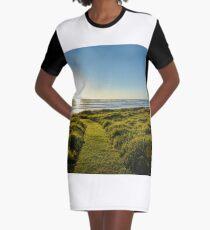 Lennox Head Mornings Graphic T-Shirt Dress