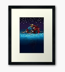Hero's Return Framed Print
