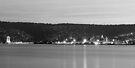 Hobart & River Derwent at Dusk by BRogers