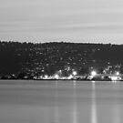 Hobart & River Derwent at Dusk by BRogers