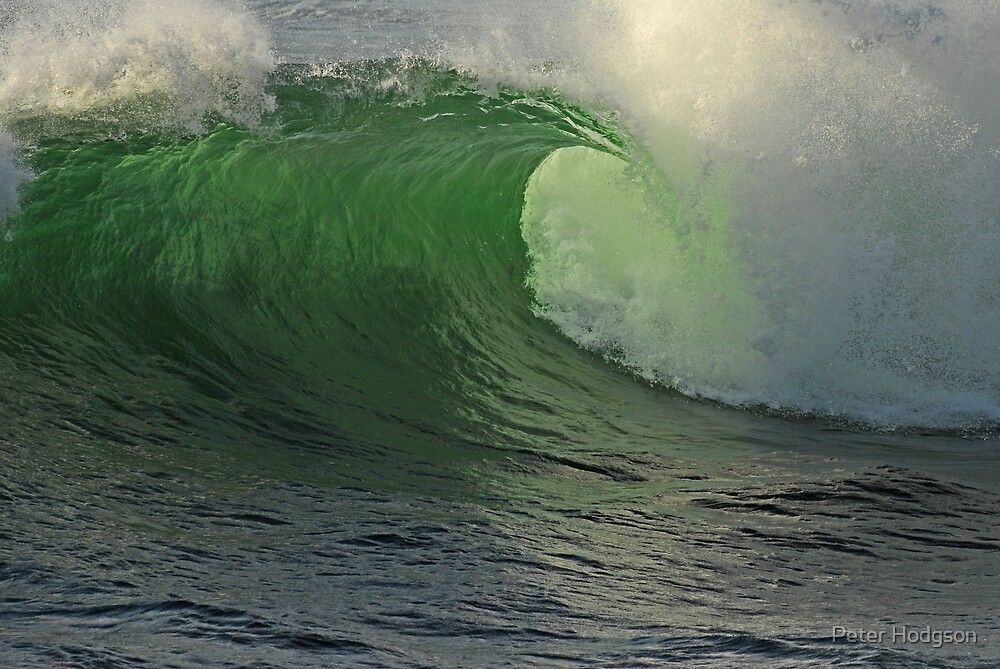 Breaking Wave by Peter Hodgson