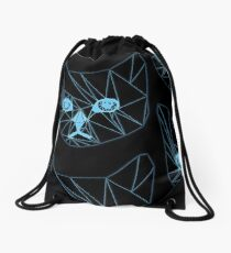 High speed gatto  Drawstring Bag