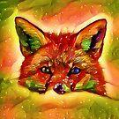 Fox in Winter by shaz