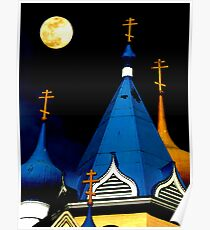 Moon Over Orthodox Poster